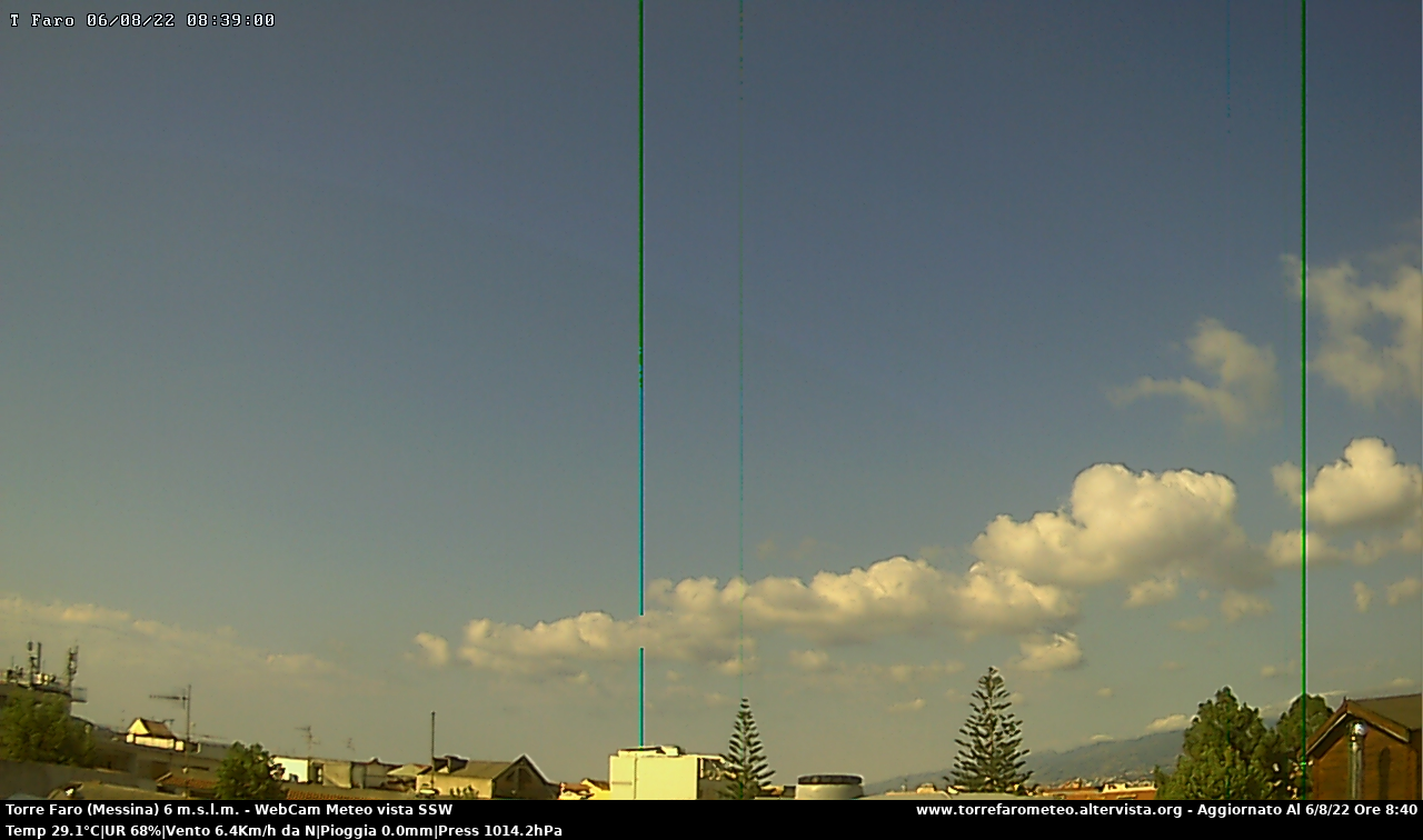 Webcam Messina, Torre Faro - Stazione Meteo Torre Faro